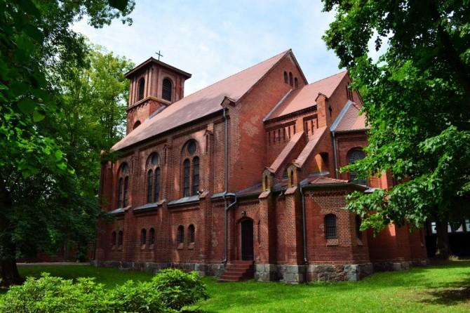 Trzesacz kościoł Miłosierdzia Bożego