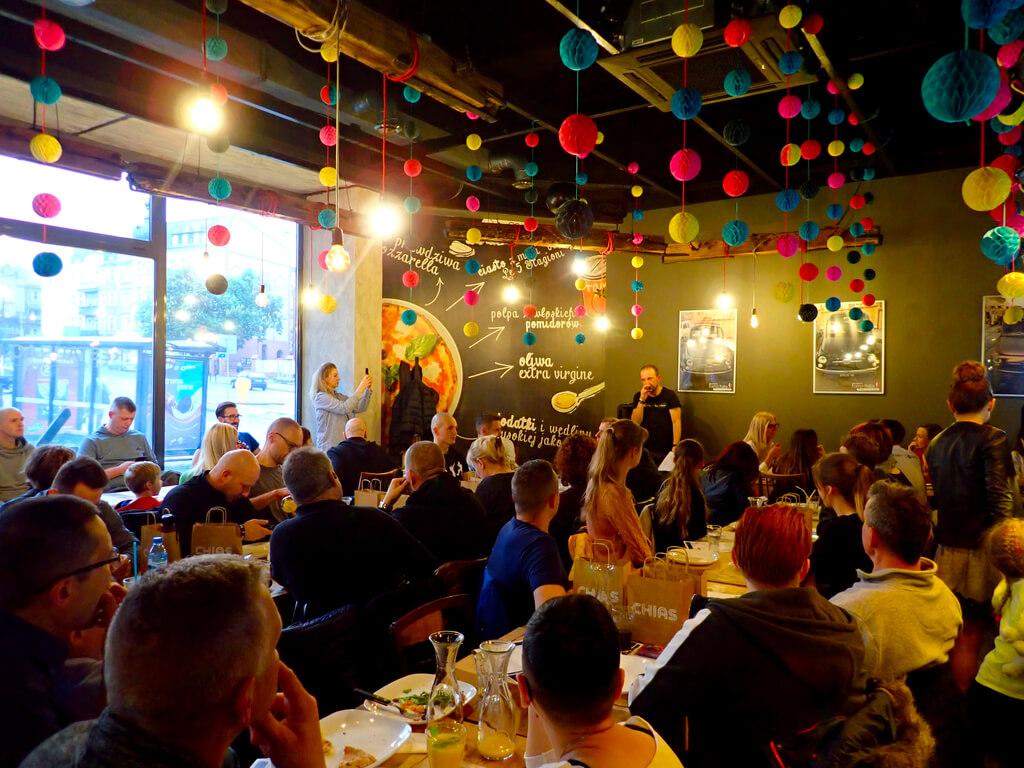Movers Pizza Party - spotkanie integracyjne w Forno Italia