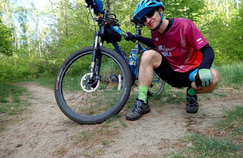 Po odpoczynku wybrałem się rowerem do lasu na regeneracyjną przejażdżkę
