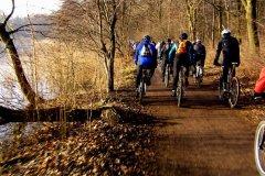 Noworoczne rowerowanie 2014